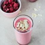 Raspberry Bakewell Smoothie