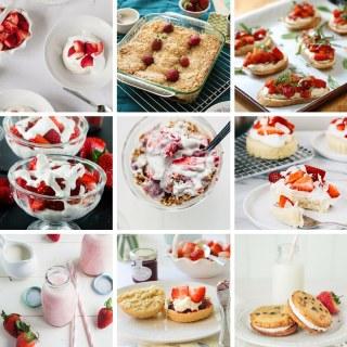 16 (Vegan) Strawberries & Cream Recipes