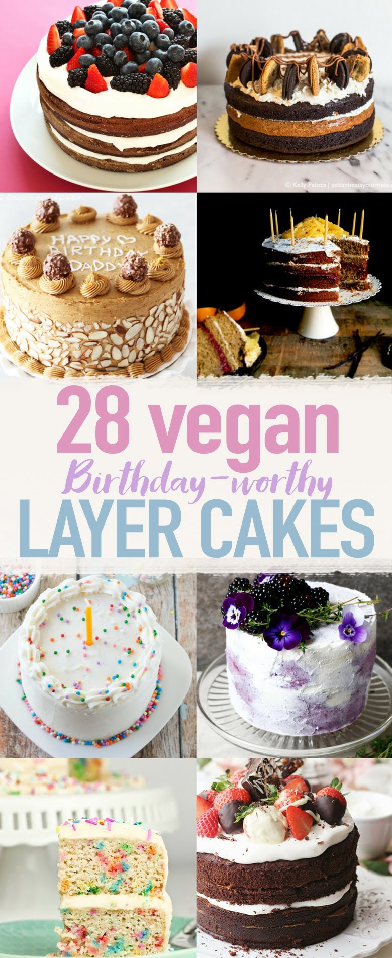 Vegane Oreo Torte 28 Birthday Worthy Vegan Layer Cakes Wallflower Kitchen