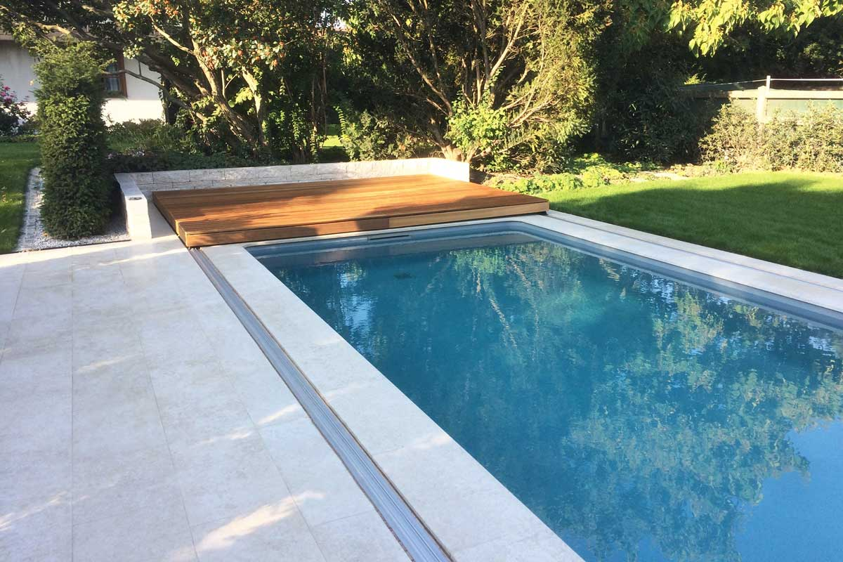 Pool Abdeckplane Transparent Flex Deck Pools Und Poolüberdachungen Von Wallner Auersthal
