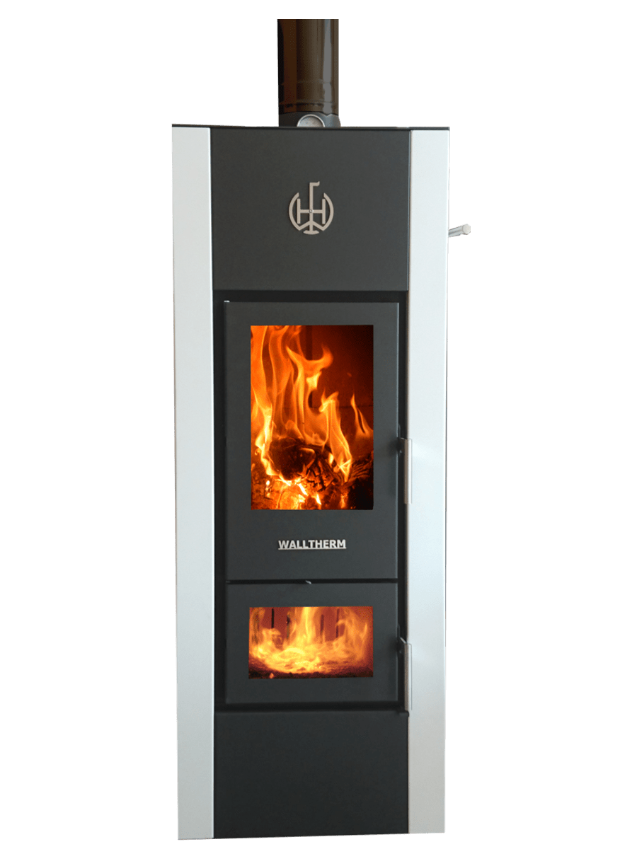 Insert Double Combustion Walltherm Zebrú The Standard Model Available In Black Or Grey