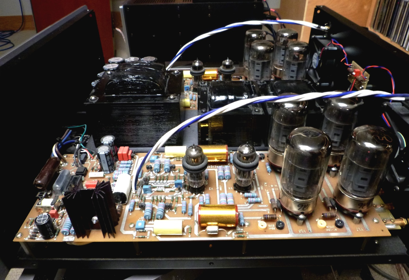 Output Tube Biasing An Introduction Wall Of Sound Audio And 58 W Power Amplifier