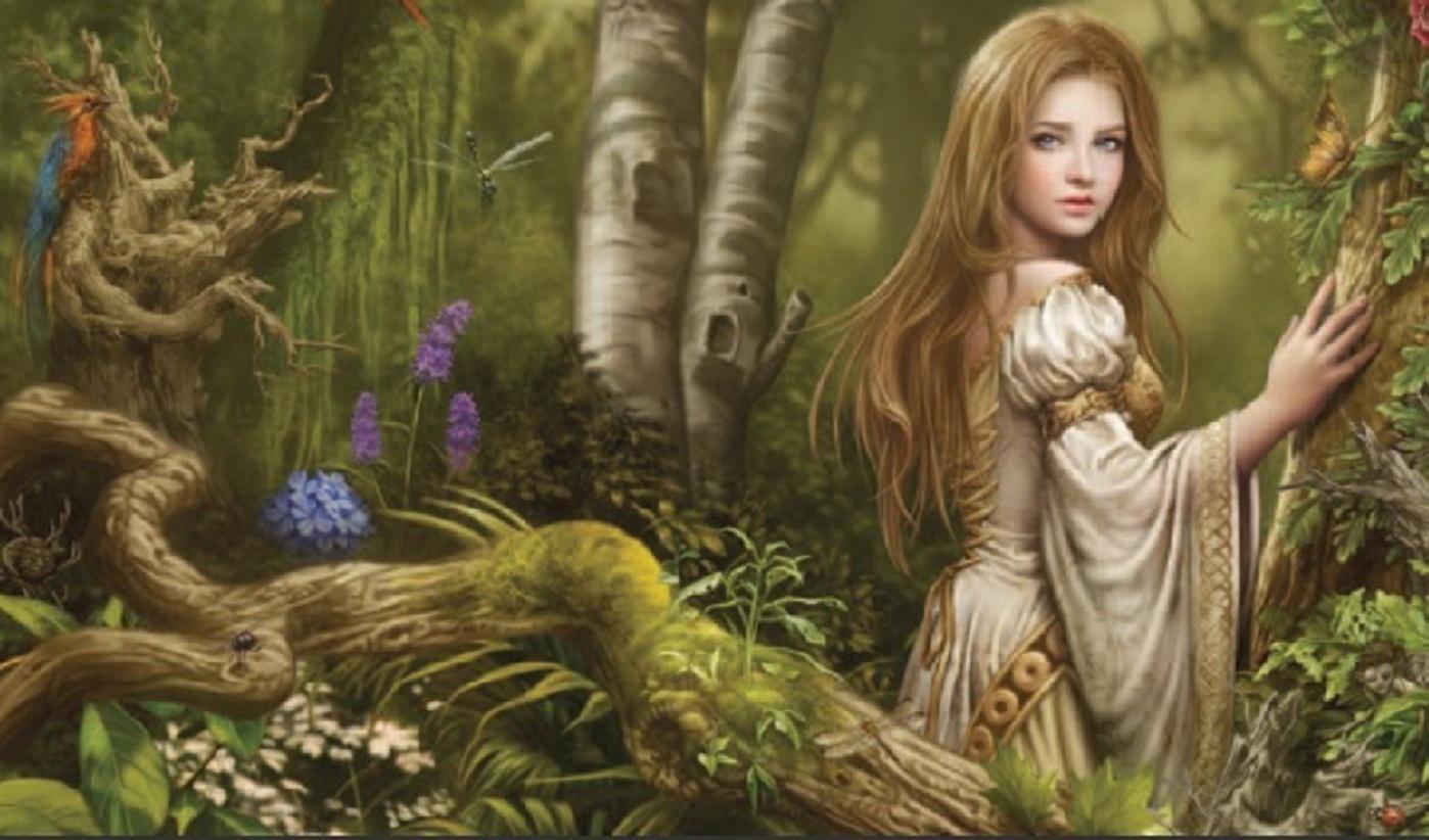 Fall Masquerade Fairies Wallpapers Nature Girl Wallpapers Group 64