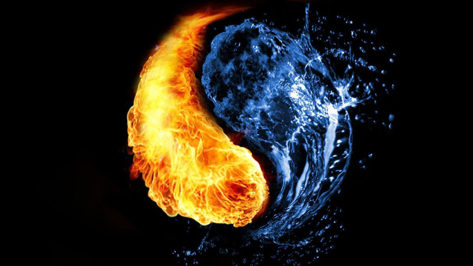 Yin And Yang Wallpaper Hd Water And Fire Wallpapers Group 71