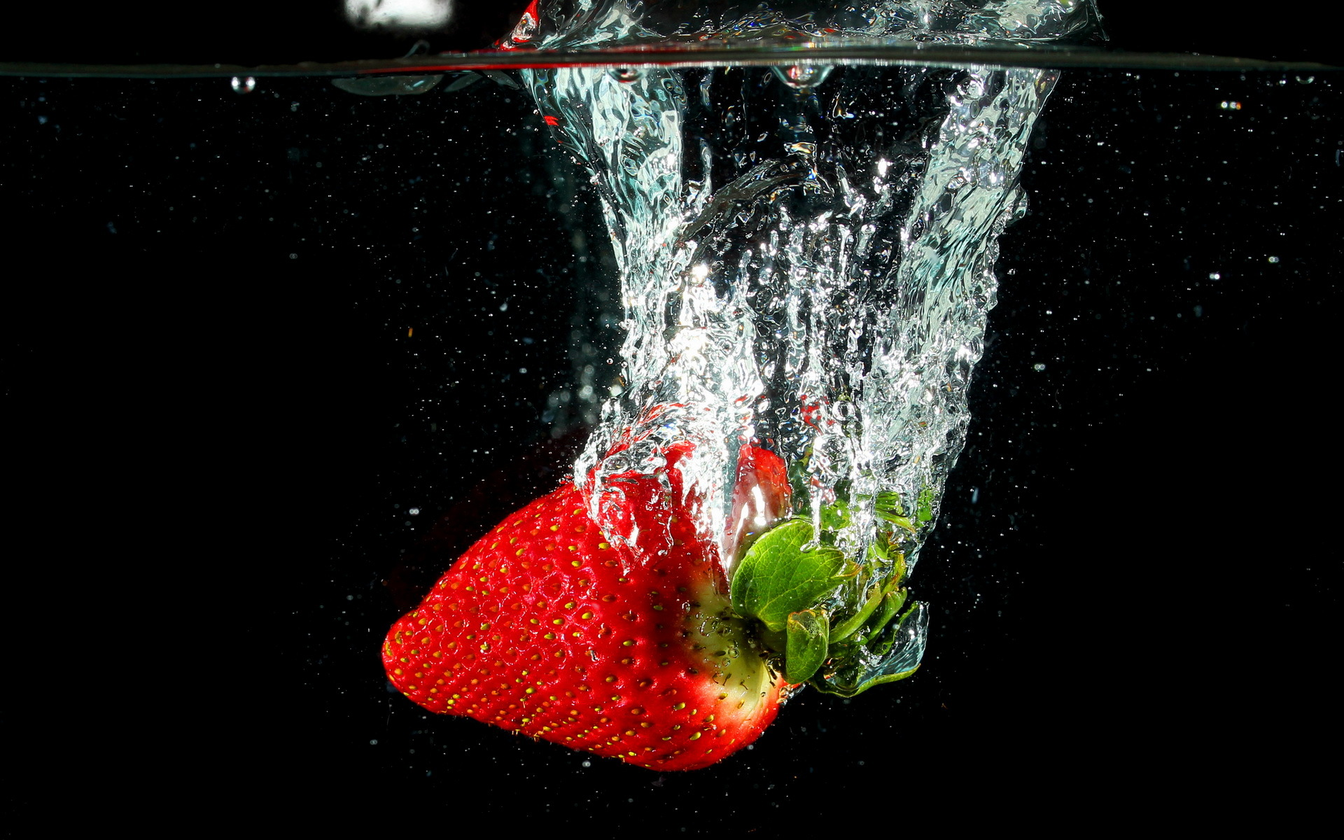 Water Drop 3d Live Wallpaper Strawberry Wallpapers Group 87