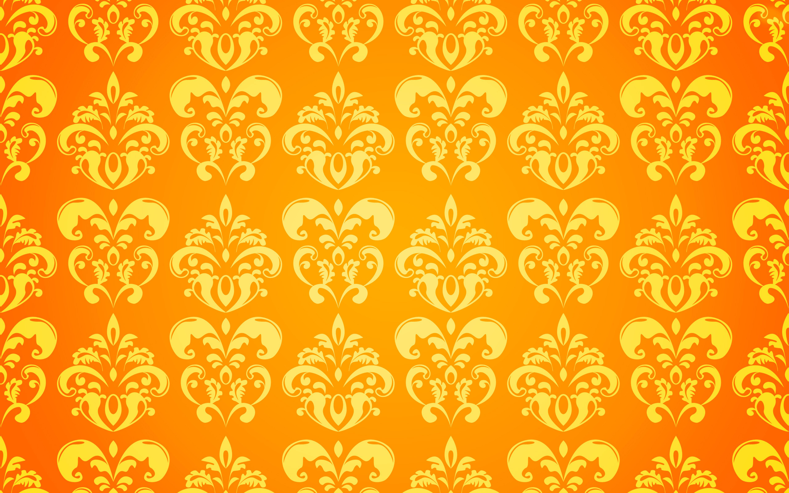 Fall Iphone Wallpaper Pattern Yellow Floral Wallpapers Group 52