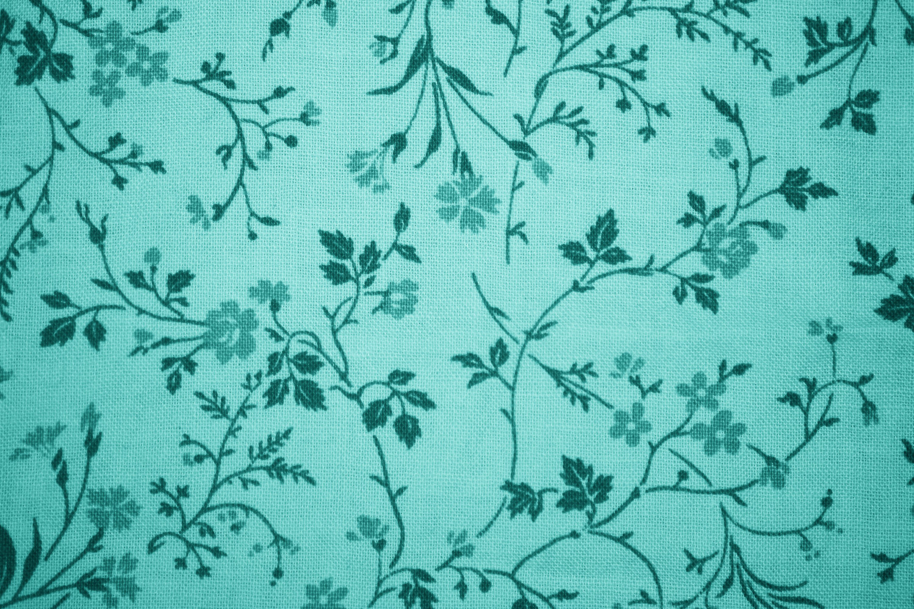 Wallpaper Hd Floral Teal Pattern Wallpapers Group 57