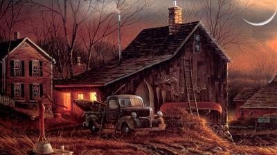 Country Home Wallpapers Group (74+)