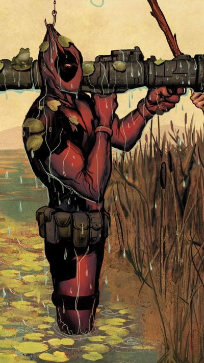 Deadpool iPhone Wallpapers Group (77+)