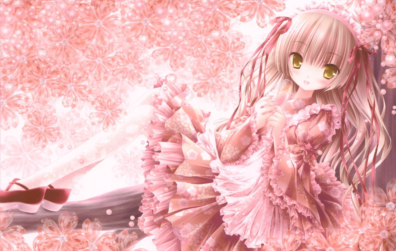 65 Cute Valentines Wallpapers Collection Pink Anime Wallpapers Group 72