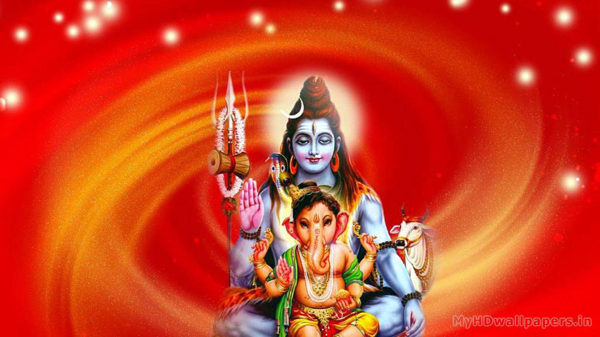 Desktop Wallpaper Hd 3d Full Screen God Ganesh Shiva Wallpapers Hd Group 62