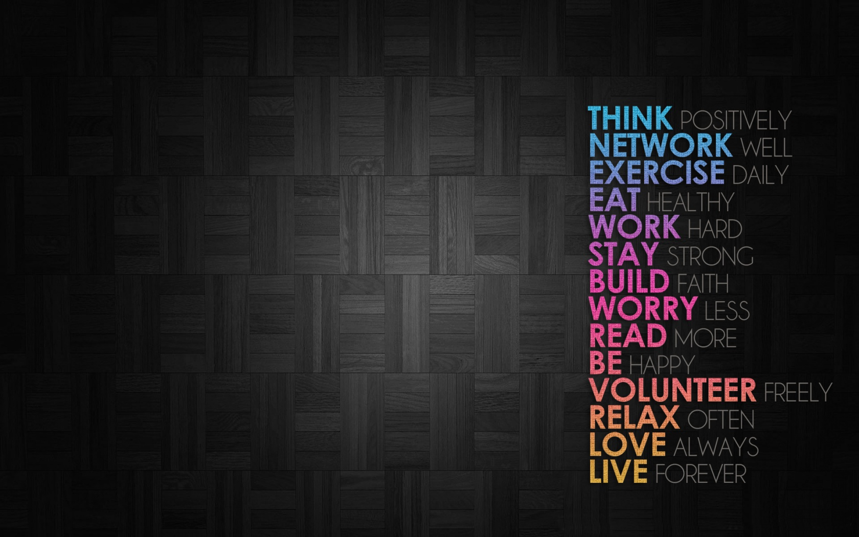 Fantastic Wallpapers With Quotes Positive Wallpapers Group 75