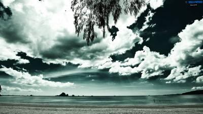 Beach background wallpaper 1600×900 | Wallpaper 29 HD