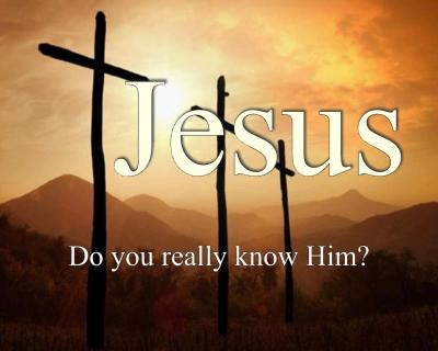 Do you know Jesus? Wallpaper - Christian Wallpapers and Backgrounds