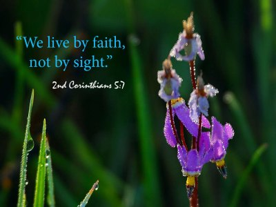 2 Corinthians 5:7 - Live By Faith Wallpaper - Christian Wallpapers and Backgrounds