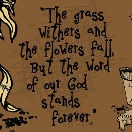 Isaiah 40:8 Wallpaper
