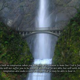 1 Corinthians 10:13 Wallpaper
