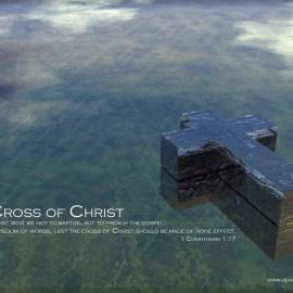 1 Corinthians 1:17 Wallpaper