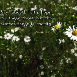 1 Corinthians 13:13 Wallpaper