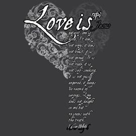1 Corinthians 13:4-6 Wallpaper
