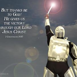 1 Corinthians 15:57 Wallpaper