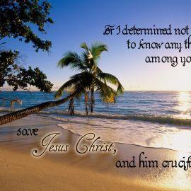 1 Corinthians 2:2 Wallpaper