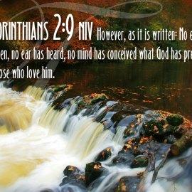 1 Corinthians 2:9 Wallpaper