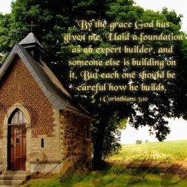 1 Corinthians 3:10 Wallpaper