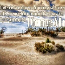 1 Corinthians 6:11 Wallpaper