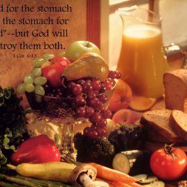 1 Corinthians 6:13 Wallpaper