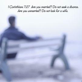 1 Corinthians 7:27 Wallpaper