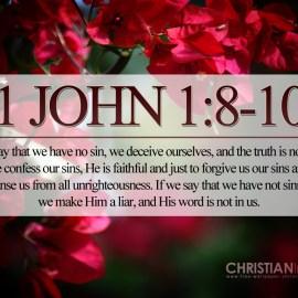 1 John 1:8-10 Wallpaper