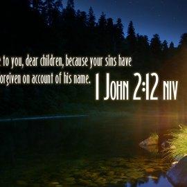 1 John 2:12 Wallpaper