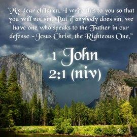1 John 2:1 Wallpaper