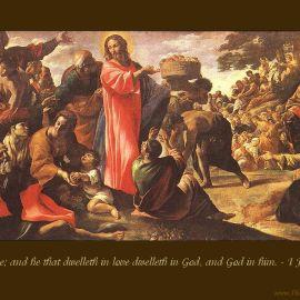 1 John 4:16 Wallpaper