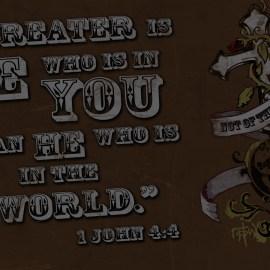 1 John 4:4 Wallpaper