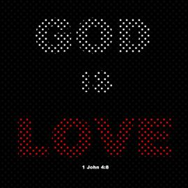 1 John 4:8 Wallpaper