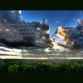 1 Thessalonians 4:16-27 Wallpaper