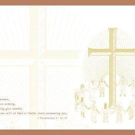 1 Thessalonians 5:16-18 Wallpaper