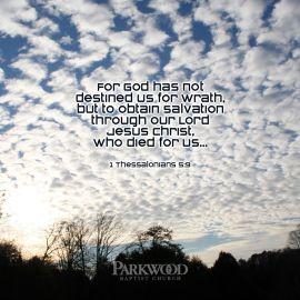 1 Thessalonians 5:9 Wallpaper