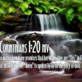 2 Corinthians 1:20 Wallpaper