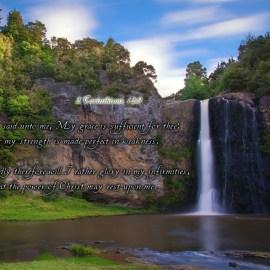 2 Corinthians 12:9 Wallpaper