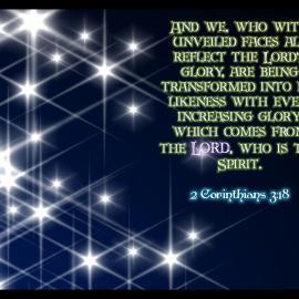 2 Corinthians 3:18 Wallpaper