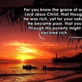 2 Corinthians 8:9 Wallpaper