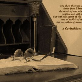 2 Corithians 3:3 Wallpaper