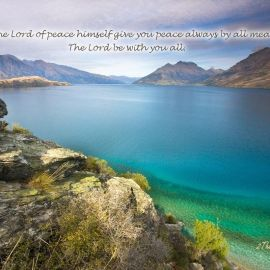 2 Thessalonians 3:16 Wallpaper