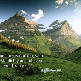 2 Thessalonians 3:3 Wallpaper