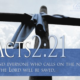 Acts 2:21 Wallpaper
