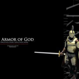 Armor of God – black Wallpaper