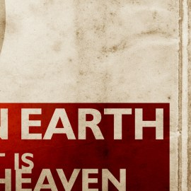…as it is in Heaven Wallpaper